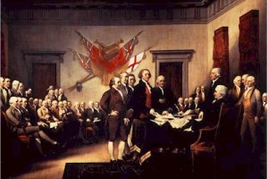 An Evolutionary Creationist's Declaration of Independence (Apologies to Mr. Jefferson)