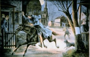 Information Theory and the Midnight Ride of Paul Revere