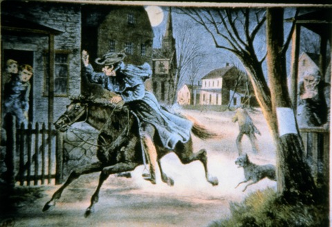 I need three sentences on why I'm writing a paper on Paul Revere?